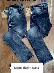 Comfort Fit Denim Mens Jeans