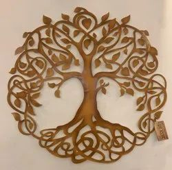 Metal Art Wall Decor Tree Of Life