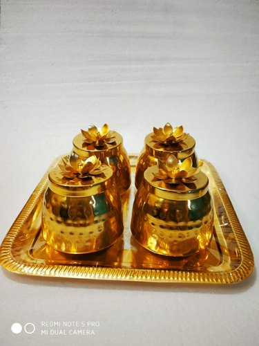 Brass Coated Chocolate Boxes For Corporate Gifting