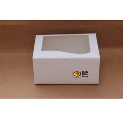 7x5x3.5 Inches White Window Box