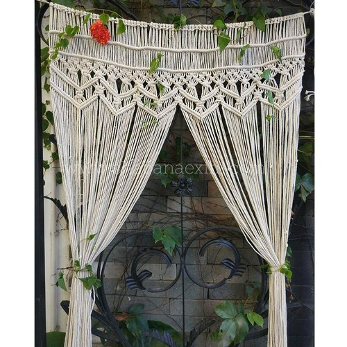 Macrame Curtains Wedding Photography Backdrops शादी में