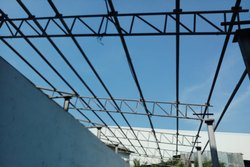 Mild Steel Color Coated Structure Building and Shed Installation