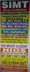 Admission NIOS Education Classes, 6 Month, Sun Bright Academy
