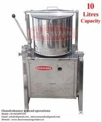 10 Litres Capacity Commercial Tilting Wet Grinder Light Box Type