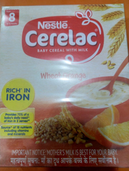 Cerelac Wheat Orange