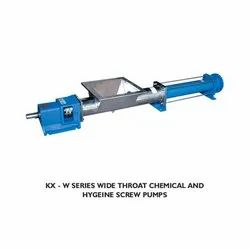KX-W Series Wide Throat Chemical and Hygiene Screw Pumps
