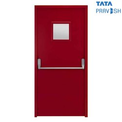 120 Min GI Sheet Tata Pravesh Fire Rated Commercial Door