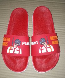 Red Daily wear slippers