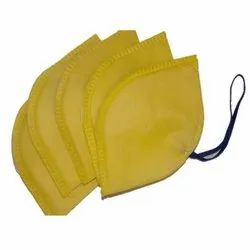 Non-Woven Yellow Disposable Mask, For Surgical