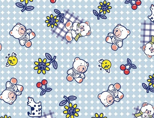 New Born Baby Printed Sheet