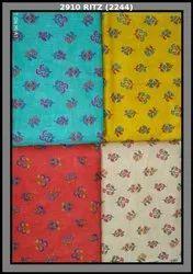 Heavy Cotton Slub Printed Fabric