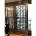 Pvd Titanium Coated Safety Door Grill