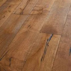 Divine Brown Engineered Wood Flooring, Finish Type: Matte, Thickness: 10 To 20mm