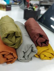 Muslin Slub Dyed Fabric