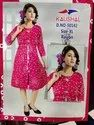 Casual Wear Anarkali Fancy Rayon Kurti, Size: Xl, Age Group: 15 And Above