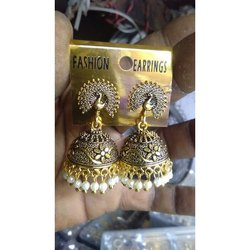 Casual Wear Imitation Brass Hanging Earring