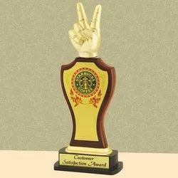 PI 18-323 Victory Wooden Trophy