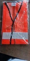 Orange Safety Reflective Jacket