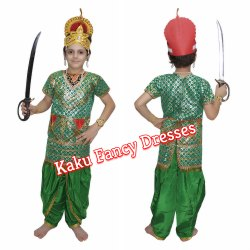 Kids Green Kumbhkaran Costume