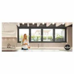 UPVC Casement Windows, Glass Thickness: 2-5 Mm