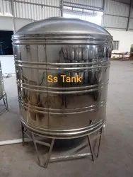 SS Embossed Water Tank