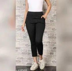 Pants Imported Ladies Cotton Pant, Waist Size: 34