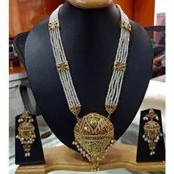 Party Wear Fancy Artificial Necklace Set