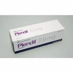 Plendil 2.5mg Hypertension Tablets