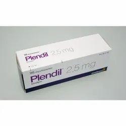 Plendil 2.5mg Hypertension Tablets