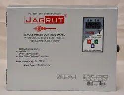 Jagrut Single Phase Digital Submersible Control Panel with LLC, 230V