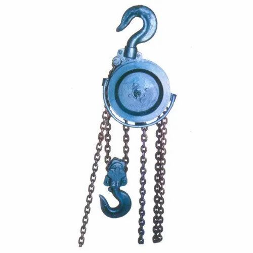 Morris Chain Pulley Block - RS Chain Block Manufacturer from Ahmedabad