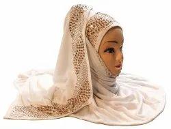 Hosiery Stretchable Scarf Hijab For Women