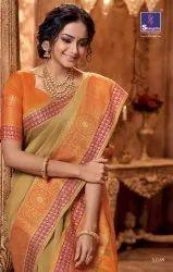 Shangrila Kalamkari Vol-5 Handloom Silk Saree Catalog at Textile Mall
