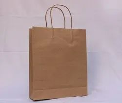Brown Shopping Paper Bag, Capacity: 5kg