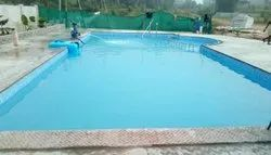 Blue FRP Prefabricated Swimming Pool for Hotels/Resorts
