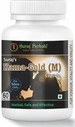 Suraj''s Kama Gold (M) Capsules