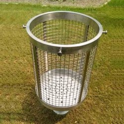 Single Unit Round Shape Dustbin