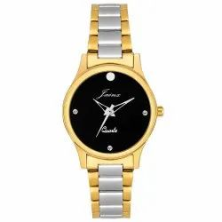 Black Dial Women Premium Wrist Watch