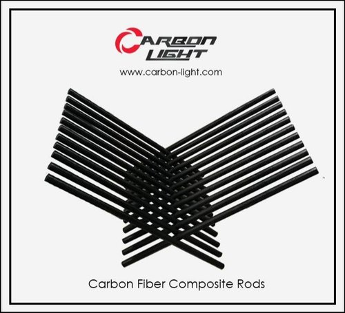 Carbon fiber rods for external fixator