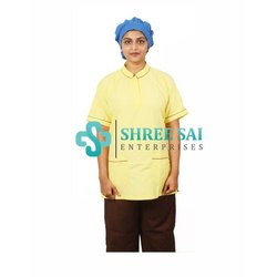 Hospital Nurse's Uniforms Sleeves Top With Trouser