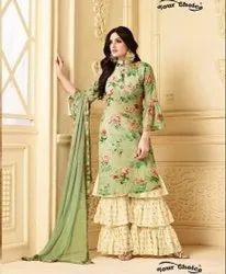 Blooming Designer Sharara  Suit