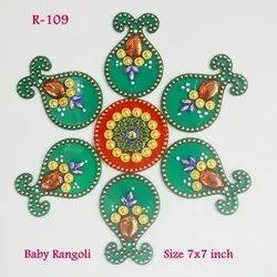 Rangoli Free Hand Mini