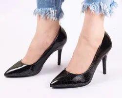 Tinkle Black High Heels Ladies Bellies