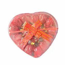 Lovely Round Premium Homemade Chocolate, Box Capacity: 50gm-5 Kg