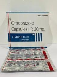 Omeprazole Capsule IP 20 mg