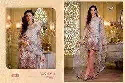 Shree Fabs Anaya Vol 7 Georgette Work Pakistani Salwar Kameez