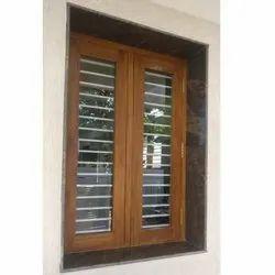 Teak Wood Modern Wooden Window, Size/Dimension: 4x3 Feet, Rectangular