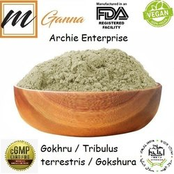 mGanna Gokhru Powder, Archie Enterprise, 25 Kg