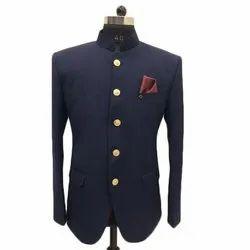 Wedding Blue Mens Jodhpuri Suit, Size: M - XXL