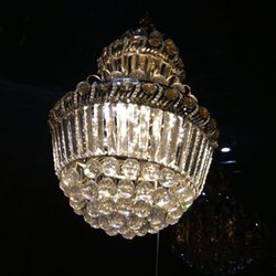 Tradional Ceiling LED Crystal Chandelier, Shape: Round